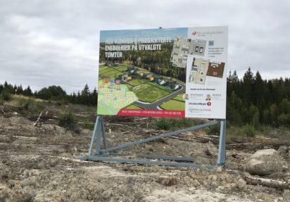 Nye bilder fra tomteområdet på Brunsbykollen
